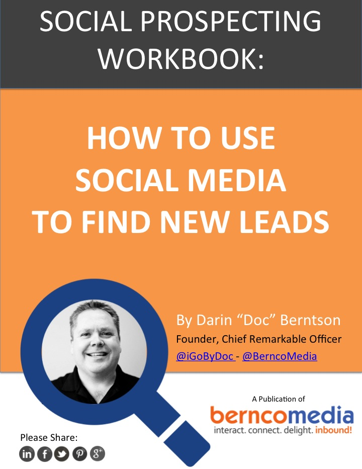 Bernco Media Social Prospecting Workbook