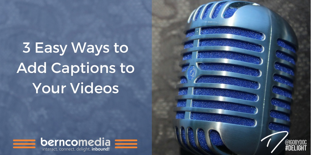 3 Easy Ways to Add Captions to Your Videos