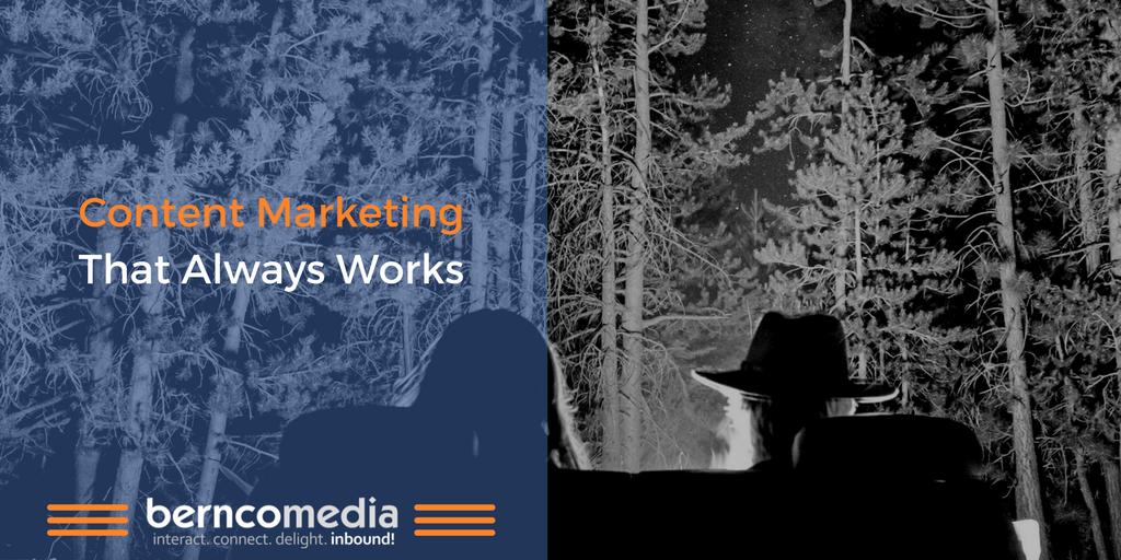 Content Marketing That Always Works