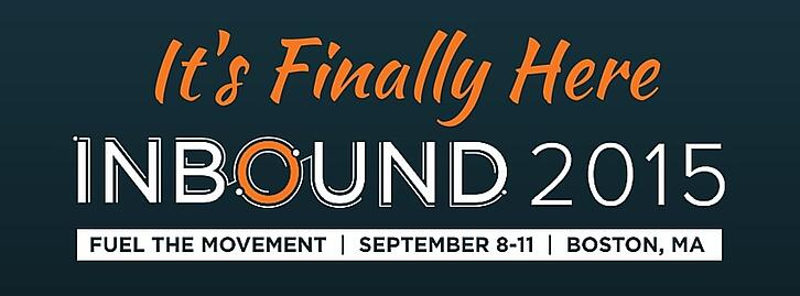 #Inbound15 Is Finally Here