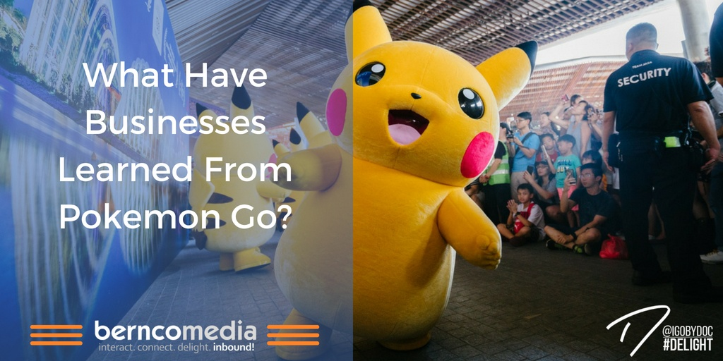 What Have Businesses Learned From Pokemon Go