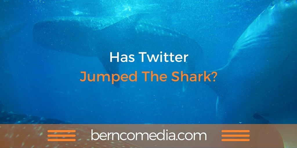 has Twitter jumped the shark?