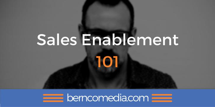 sales enablement 101