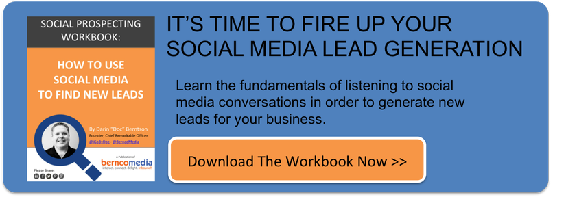 Download the Social Prospecting Workbook Today!