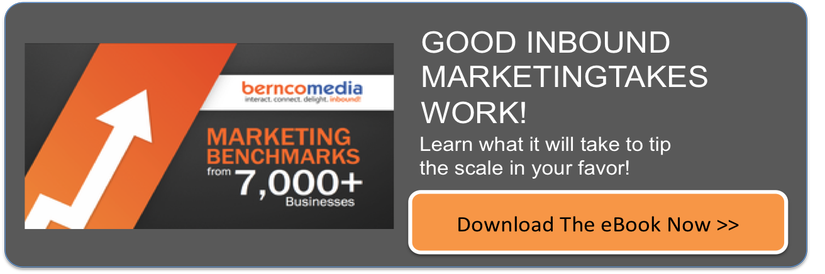 Download our Marketing Benchmarks FREE eBook
